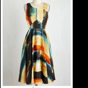 Aesthetic allure ModCloth swing dress